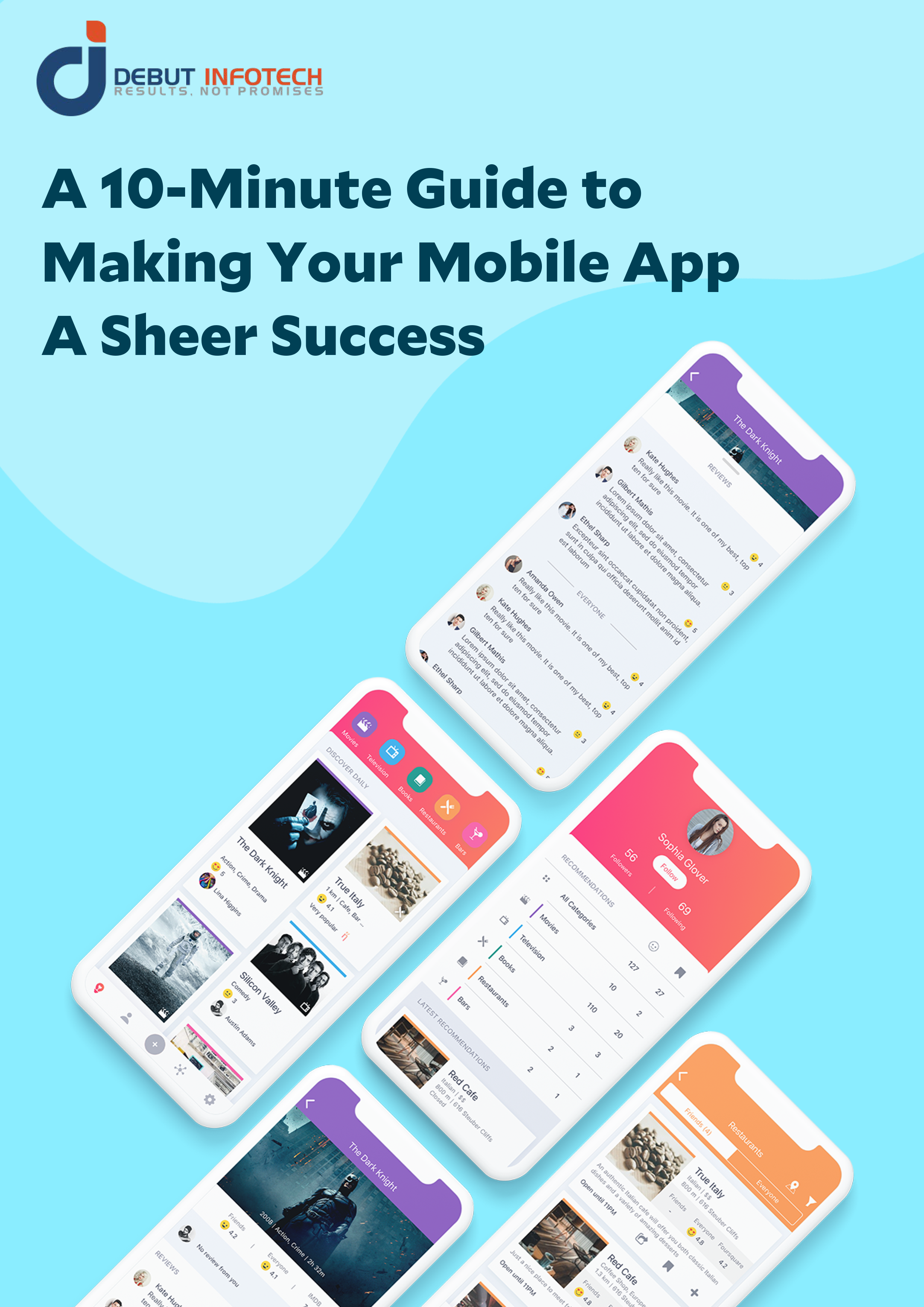 Guide to make you mobile app a sheer success | Ebook